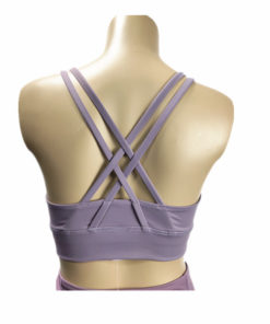 High Impact Solid Color Fitness Yoga Bra