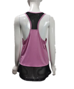 Ladies Mesh Tank Top for Fitness