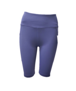 Solid Color High Waist Ladies Shorts