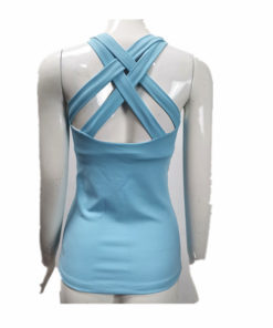 Solid Color Ladies Workout Top