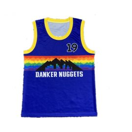 Round Neck basketball singlets low MOQ for startups